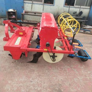 Tractor to drive 4 rows of miscellaneous grains seeder machine