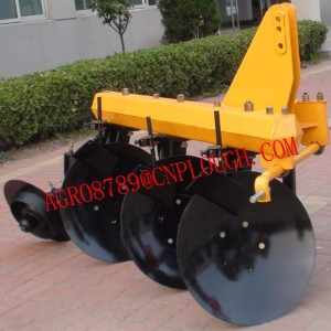 fish disc plow
