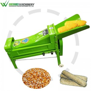 Weiwei Corn sheller maize cob peeler thresher machine