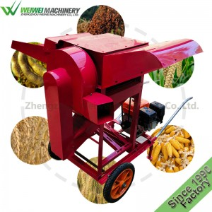 Weiwei manufacture multifunctionalwheat and rice sheller grain feed processing machine