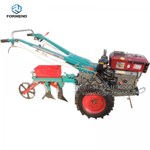 Hand starter Electric Starter Tractor machine of 18HP 2 wheel walking tractor for sale in China