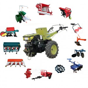 2wheel multi purpose walking tractor plough
