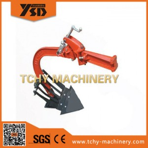 Single share plough for walking tgractor